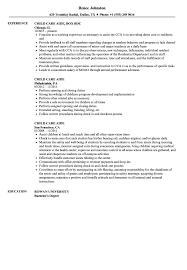 Child Care Aide Resume Samples Velvet Jobs