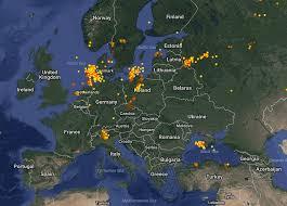 lightningmapsorg website a community project with free lightning