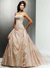 champagne wedding dresses dressed up girl