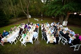 Charming Wedding Décor For Backyard Weddings  Wedding FanaticDiy Backyard Wedding Decorations