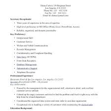 Cover Letter For Receptionist Examples Cover Letter Samples For