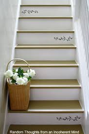 Best  Painting Stairs Ideas On Pinterest - Painted basement stairs