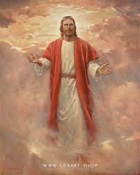 christ in his glory painting by del parson