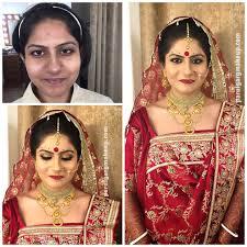 Bridal Kumkum Bindi Designs Bengali Bridal Makeup By Parul Garg Makeup Artist Delhi