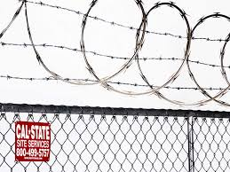 chain link fence post installation. We Install Razor Wire To Create Either A Circular Effect Or Ring Around The Barb Wire. You Can\u0027t Rent Without Also Renting Chain Link Fence Post Installation