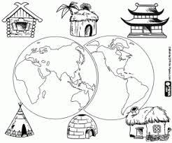 Small Picture Around the World coloring pages printable games