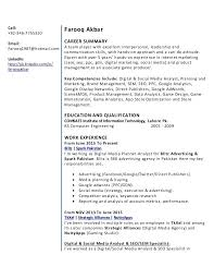 Beautiful Resume Google Analytics Pictures - Simple resume Office .