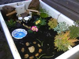 Small Picture Childrens fairy garden in old belfast sink Fun outdoor small