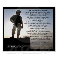 best military images military military  the iers creed military warrior ethos poster