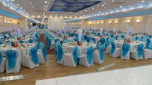Turquoise And White Wedding Decorations 54 Beautiful Hall Wedding Ideas Ladyroi Bridals