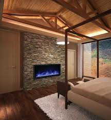 electric fireplace new touchstone inch wall mounted