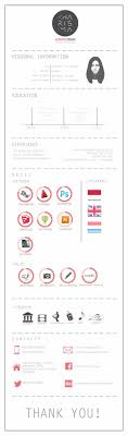 Curriculum Vitae By Sofia Ayuso Via Behance Infographic Visual