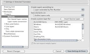 Convert Dwg To Dxf Dxf Dwg Export Translator Settings Knowledgebase Page Graphisoft