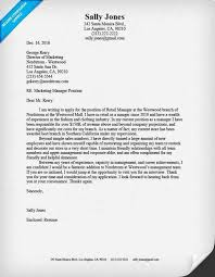 Best Store Manager Cover Letter Examples Awesome Collection Of