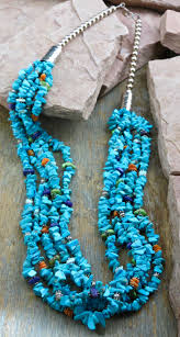 ana 1126 authentic native american turquoise necklace ana 1126 necklace b