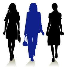 Image result for christian woman silhouette