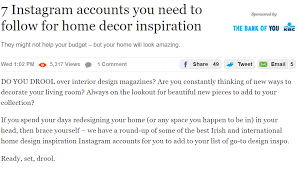 home-lust.com features in Irish interiors magazines and Irish design ...
