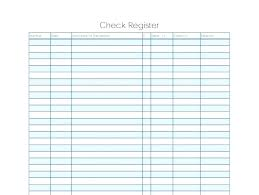 Check Register Template Relevant Large Up Date Photograph Sample