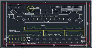 Aerodrome Lighting Smart Airfield Lighting System Sals Based On Arm7 For