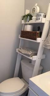 Home Decorating Ideas Apartment Above The Toilet Ladder