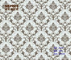 Europese Bloem Stijl Behang Wit Zilver Metallic Behang Zwart Wit Buy Behang Wit Zilverbehang Zwart Witzilver Metallic Behang Product On
