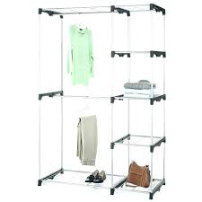 bed bath beyond clothing rack bed bath and beyond clothes rack portable closets inch closet organizer