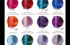 Ion Hair Dye Color Chart Blonde Hair Color Chart Avoid Incorrect Choice Medium