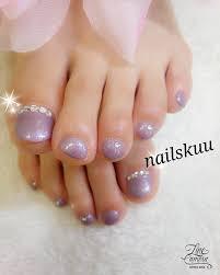 ワンカラーフットネイル Nails Kuu Nails Kuu のネイル ネイルクルー
