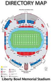 Maps Directions The Liberty Bowl Stadium