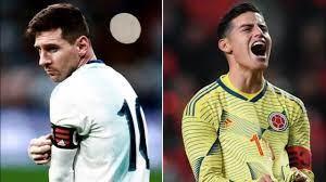 Argentina vs Colombia, Copa America ...