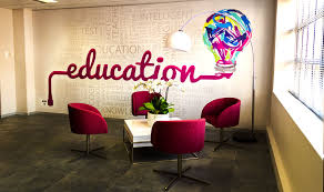 funky office interiors. Modren Funky FunkyReceptionSeating To Funky Office Interiors