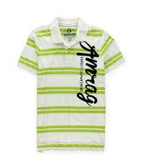 American Rag Mens Amrag Varsity Rugby Polo Shirt