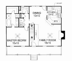 2 story house plan with first floor master beautiful cape cod house plans first floor master