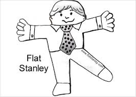 Flat Stanley Printable 45 Flat Stanley Templates Free Download Creative Template