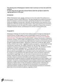 hamlet hsc essay year hsc english advanced thinkswap essay on hamlet