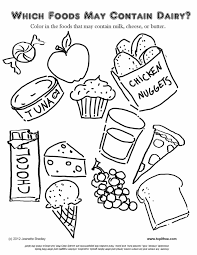 Small Picture Pages Coloring Pages Free Printable Food Tryonshortscom Printable