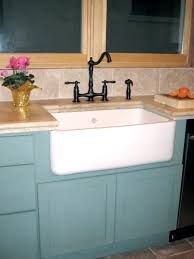Farmhouse Sink Cabinet Adventures In Installing A Kitchen Sink Old House Restoration