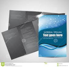 Abstract Brochure Design Stock Vector Illustration Of