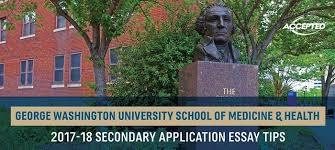 george washington smhs secondary application essay tips see more school specific secondary essay tips here