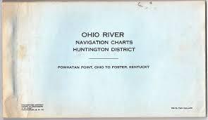 Ohio River Navigation Charts Huntington District Powhatan