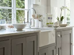 Shaker Style Kitchen Kitchen 39 Using Bright Shaker Style Kitchen Cabinets In An Open