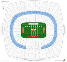 Kansas City Chiefs Club Level Seats At Arrowhead Stadium