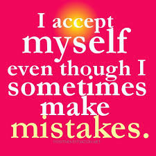 Positive Affirmations Quotes Awesome Positive Affirmations I Accept Myself Mistakes And All Joyful