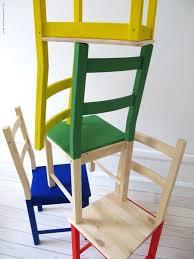 ikea furniture colors. \u0027Ivar\u0027 Pine Chairs Half Painted In Brilliant Basic Colours! Ikea Furniture Colors
