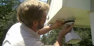 installing a motion sensor outdoor security light