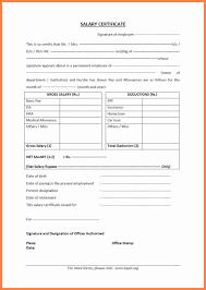 4 Salary Proof Letter Format Salary Slip
