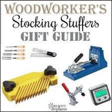 perfect stocking stuffers for your woodworker