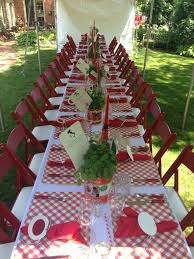Italian Table Setting Italian Table Setting Wedding Shower Pinterest Our Kids