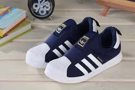 adidas kids. baby trainers new collection kids adidas superstar slip on obsidian