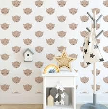 Luipaard Behang Voor De Kinderkamer Hip Huisje